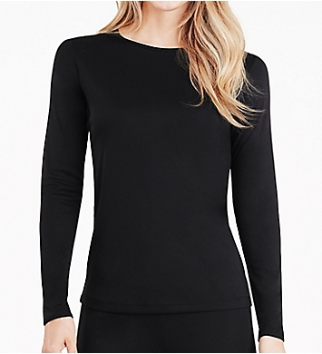 Cuddl Duds Climatesmart Long Sleeve Crew Neck Shirt
