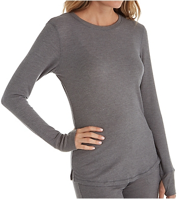 Cuddl Duds Stretch Thermal Long Sleeve Crew Top