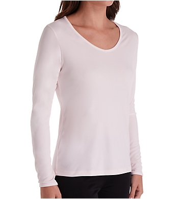 Cuddl Duds Climatesmart Long Sleeve V-Neck Shirt