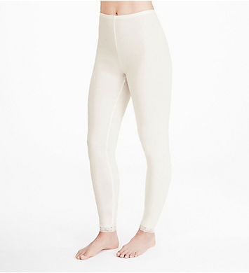 Cuddl Duds Softwear Lace Edge Legging