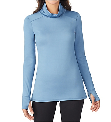 Cuddl Duds Thermawear Long Sleeve Cowl Neck Shirt