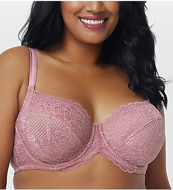 Curvy Couture Beautiful Bliss Lace Unlined Underwire Bra