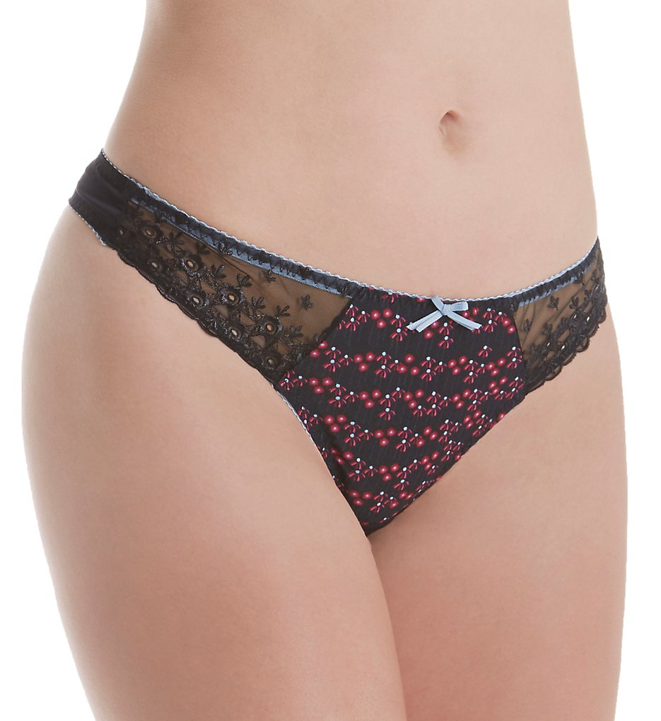 Curvy Kate - Curvy Kate CK5402 Daydreamer Thong (Floral Print S)