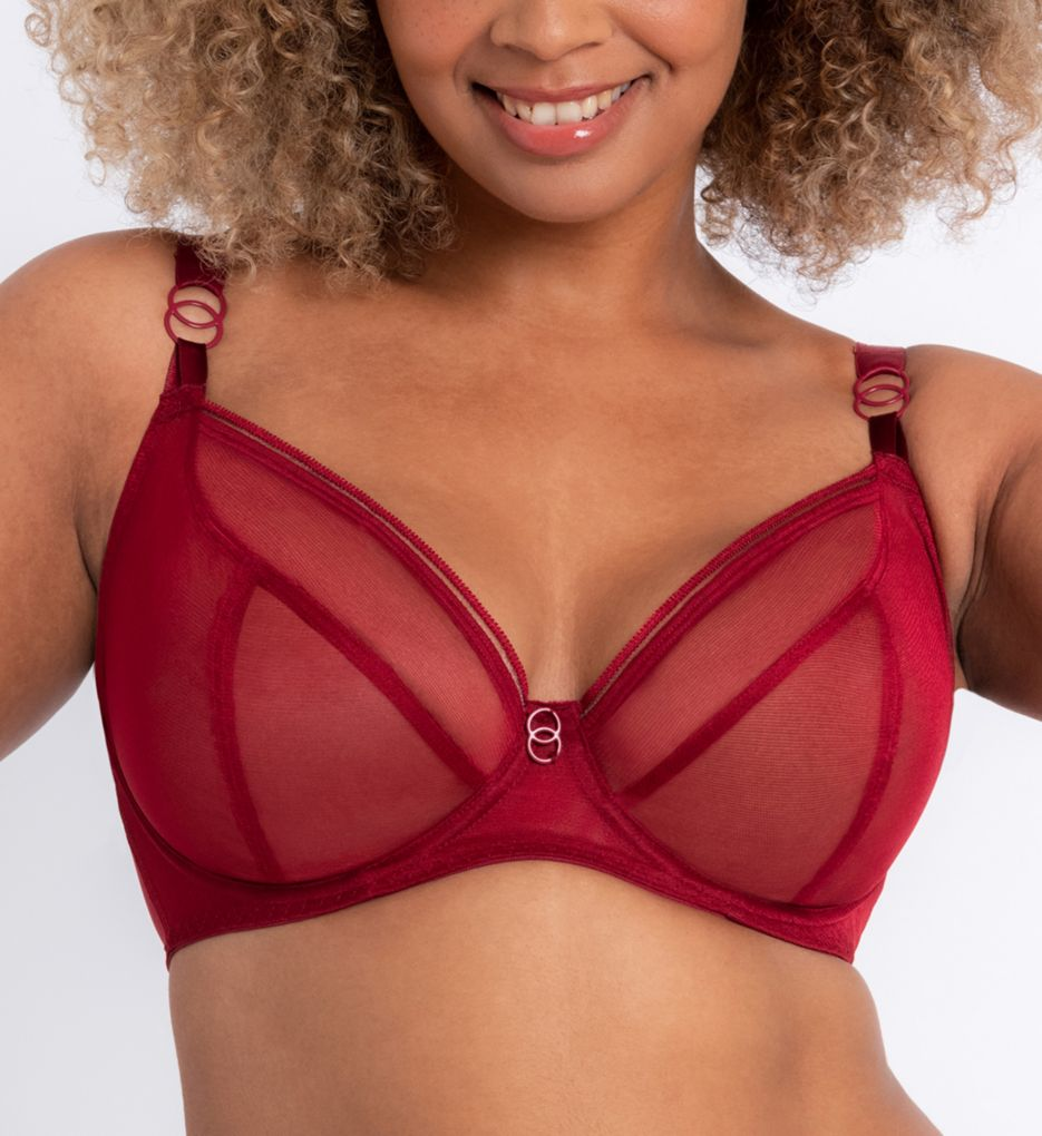 Curvy Kate Lifestyle Sheer Plunge Multi Part Cup Bra