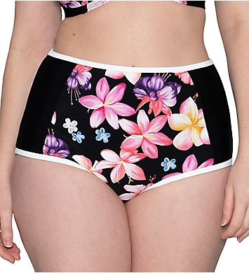 Curvy Kate Tropicana High Waist Brief Swim Bottom