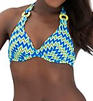 Shockwave Halterneck Swim Top