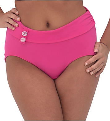 Curvy Kate Luau Love High Waist Swim Bottom