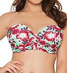 Aloha Bandeau Bikini Swim Top