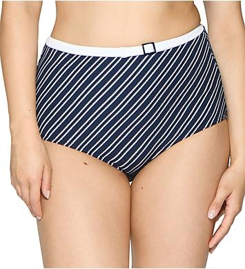 Curvy Kate Sailor Girl High Waist Brief Swim Bottom