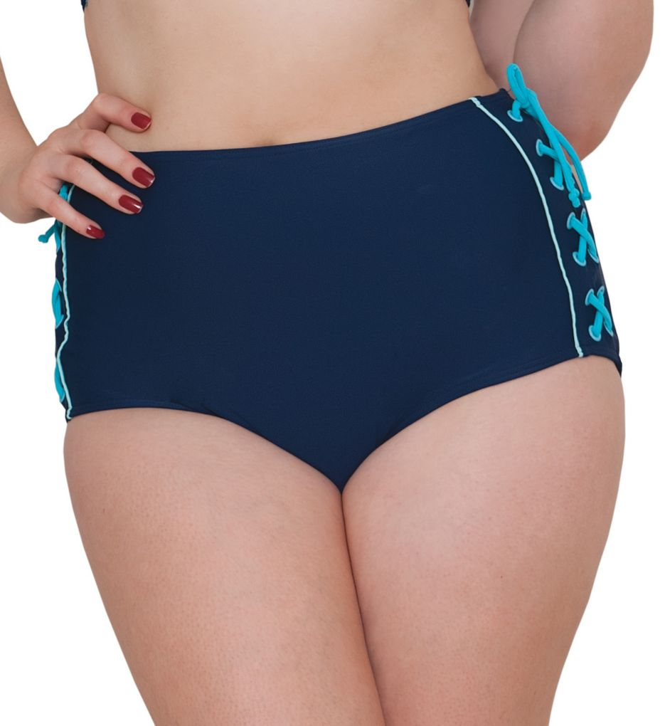 Curvy Kate Set Sail High Waist Brief Swim Bottom