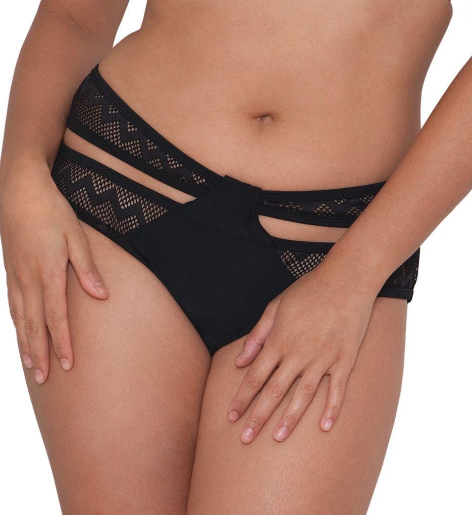Curvy Kate Hi Voltage Strappy Mini Brief Swim Bottom