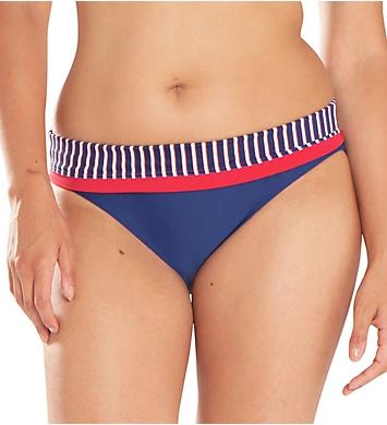 Curvy Kate Ahoy Fold Over Brief Swim Bottom