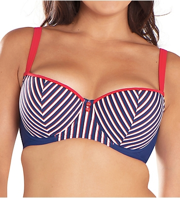 Curvy Kate Ahoy Balcony Bikini Swim Top