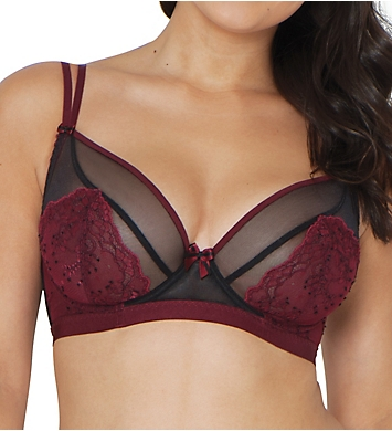 Curvy Kate Dragonfly Sheer Lace Plunge Bra