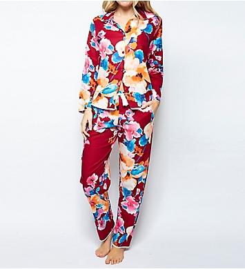 Cyberjammies Megan Floral Print PJ Set