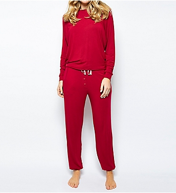 Cyberjammies Megan Knit Slouch Top PJ Set