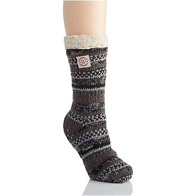Dearfoams Fairisle Blizzard Sock