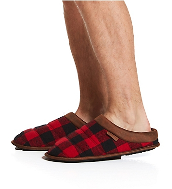 Dearfoams Quilted Clog Slipper With Memory Foam