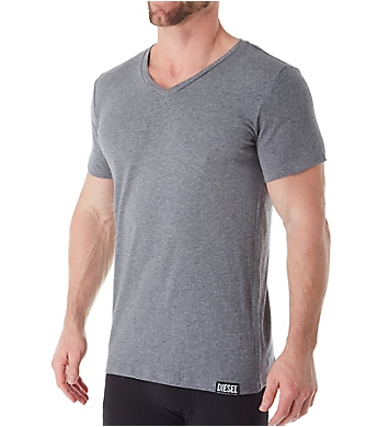 Diesel Michael Cotton Stretch V Neck T-Shirts - 3 Pack