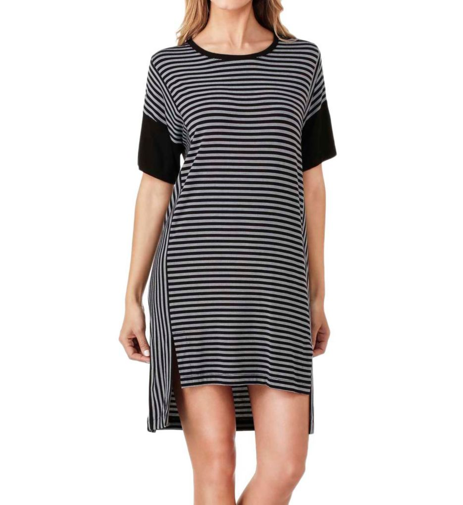 DKNY City Stripe Short Sleeve Sleepshirt