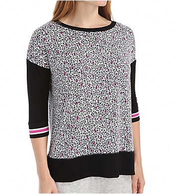 DKNY Game Changer 3/4 Sleeve Top