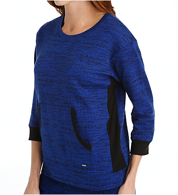 DKNY Weekend Stroll 3/4 Sleeve Top