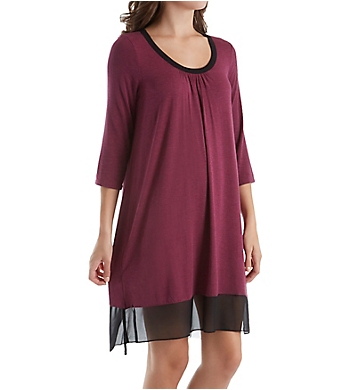 DKNY Urban Essentials 3/4 Sleeve Sleepshirt