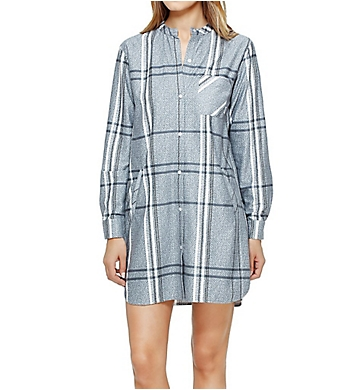DKNY Bedford Avenue Long Sleeve Sleepshirt