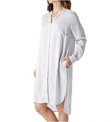 DKNY Clean Slate Long Sleeve Boyfriend Sleepshirt