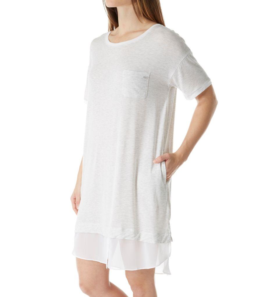 DKNY Layered Favorites Short Sleeve Sleepshirt