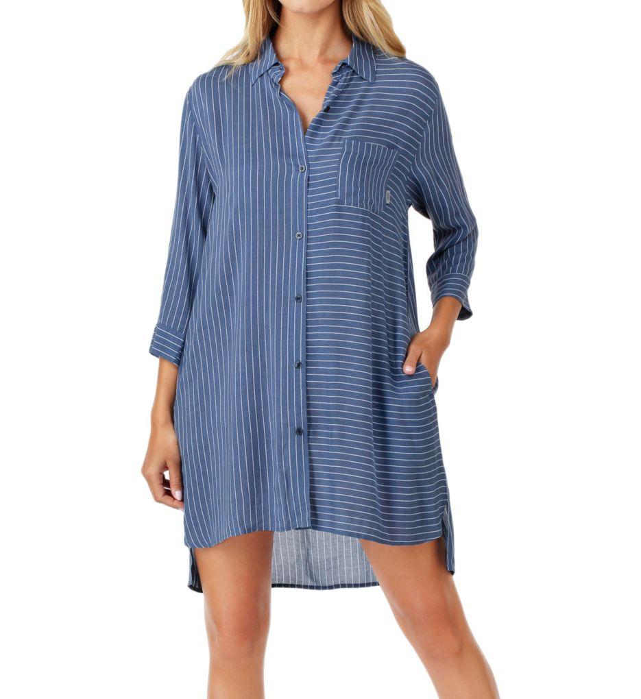 DKNY Blue Note 3/4 Sleeve Sleepshirt