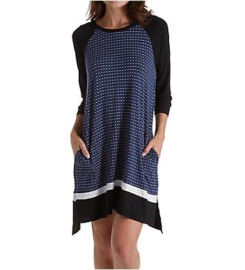 DKNY Downtown Ease 3/4 Sleeve Sleepshirt