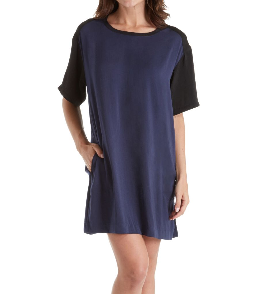 DKNY Geometric Notes 1/2 Sleepshirt
