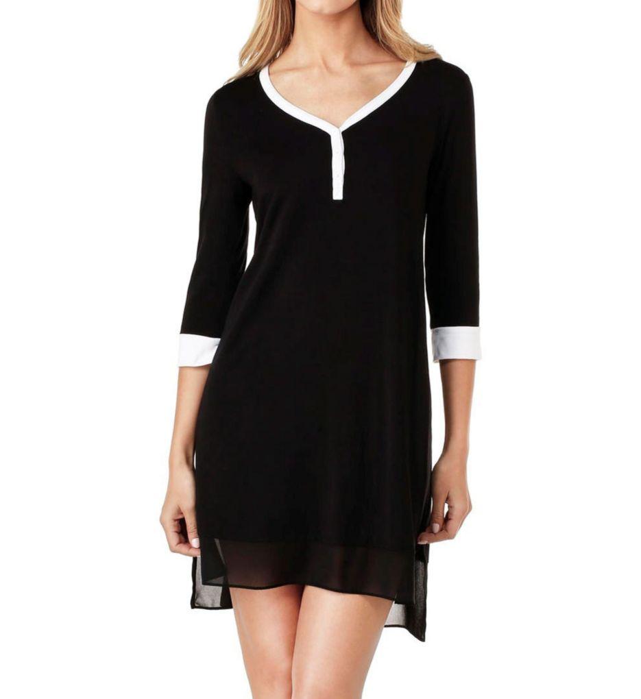 DKNY Season Silhouettes 3/4 Sleeve Sleepshirt