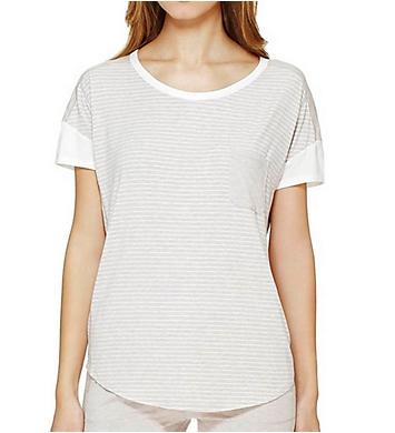 DKNY Lounge Favorites Short Sleeve Top