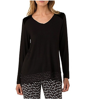 DKNY Shadows Long Sleeve Top