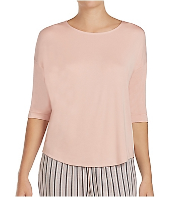 DKNY Modern Dream 3/4 Sleeve Top