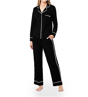 DKNY New Signature Long Sleeve Top and Pant PJ Set