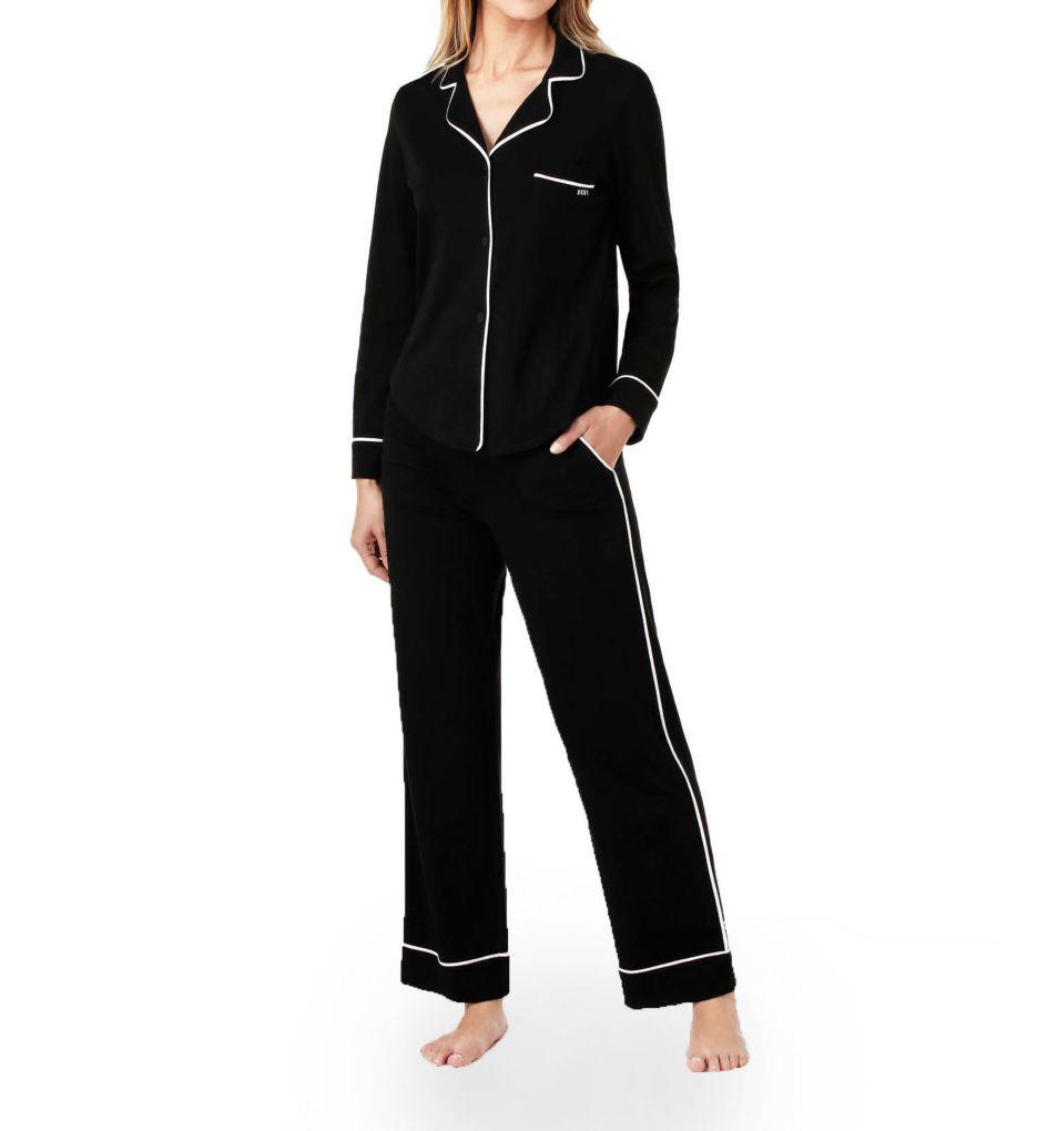 DKNY New Signature Long Sleeve Top and Pant PJ Set