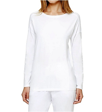 DKNY Soft Jersey Long Sleeve Top