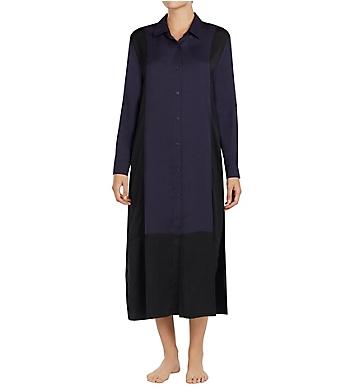 DKNY Luxe Life Long Sleeve Maxi Sleepshirt