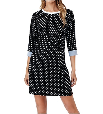 DKNY Resort Lounging 3/4 Sleeve Sleepshirt