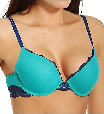 DKNY Downtown Cotton Push Up Bra