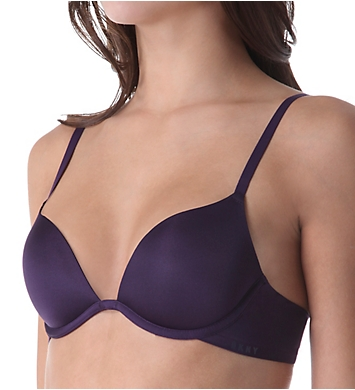 DKNY Signature Smooth Plunge Push Up Bra