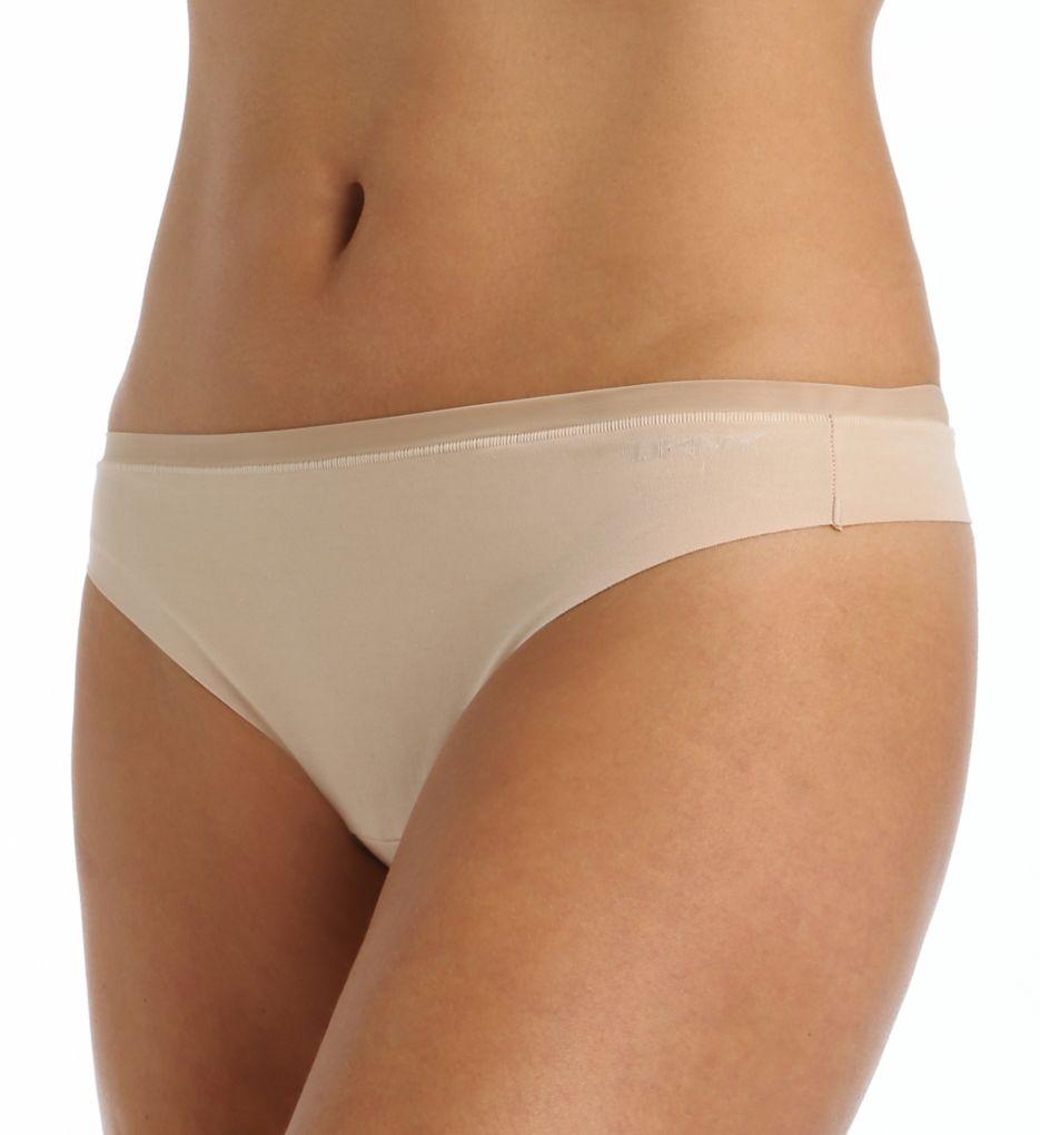 DKNY Downtown Cotton No Visible Panty Line Thong