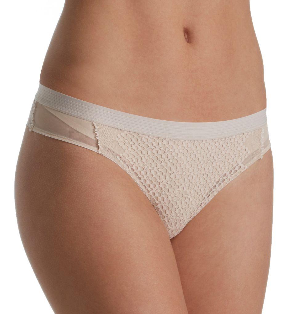 DKNY Sheer Lace Thong