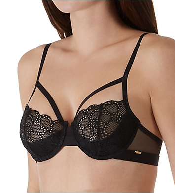 DKNY Superior Lace Half Cup Demi Bra