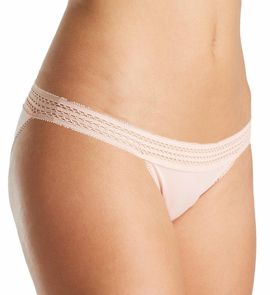DKNY DK5006 Classic Cotton Lace Trim Bikini Panty