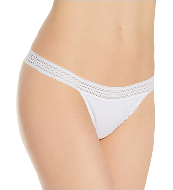 DKNY Classic Cotton Thong Panty - 3 Pack