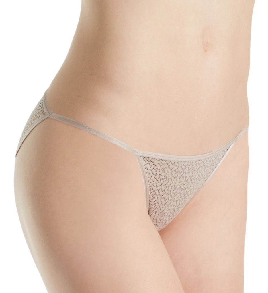 DKNY Modern Lace String Bikini Panty